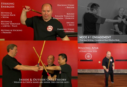 Eskrima's Strategic Application Training